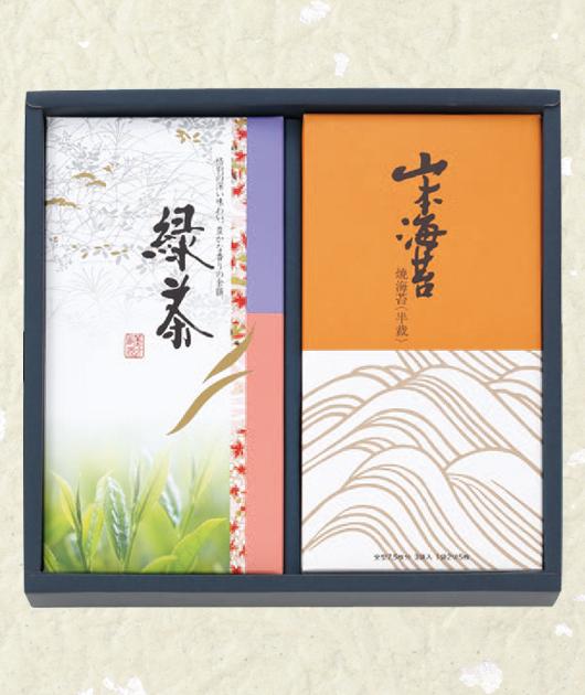 山本海苔・緑茶